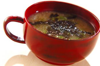 レンコンの和風スープ