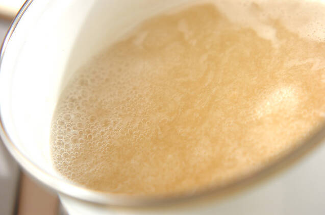 レンコンの和風スープの作り方の手順2