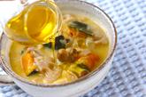 野菜クリームスープの作り方4