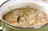 野菜クリームスープの作り方8