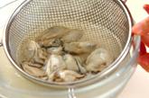カキのキムチ鍋の下準備2