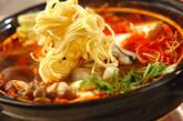 カキのキムチ鍋の作り方13