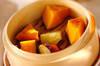 蒸しカボチャ&サツマイモの作り方の手順