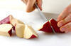 蒸しカボチャ&サツマイモの作り方の手順1