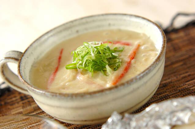 豆乳トロミ素麺