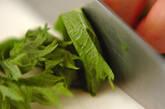 モヤシと豚肉のかき揚げの作り方1