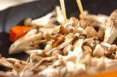キノコカレーの作り方4
