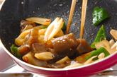 レンコンのピリ辛炒めの作り方2