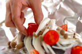 サワラとトマトのホイル焼きの作り方8