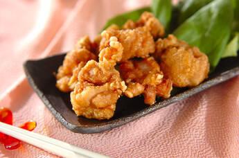 鶏肉のオイスター揚げ