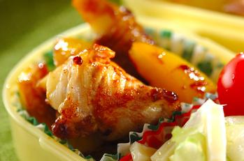 タケノコと豚肉の中華カレー炒め