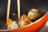 タケノコと豚肉の中華カレー炒めの作り方3