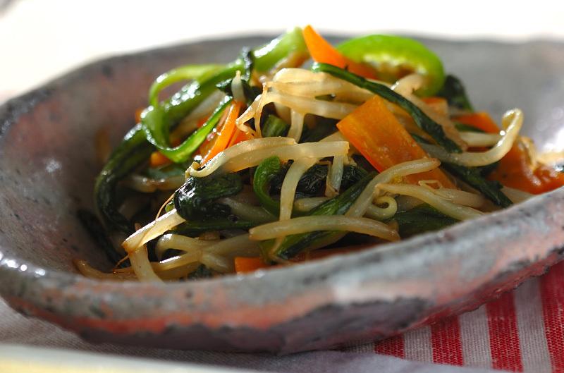 残り物でいろいろ野菜炒め