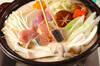 豆乳鍋の作り方の手順14