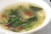 青菜のスープ