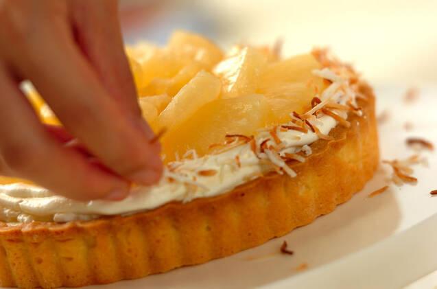 パイナップルとココナッツのタルトの作り方の手順14