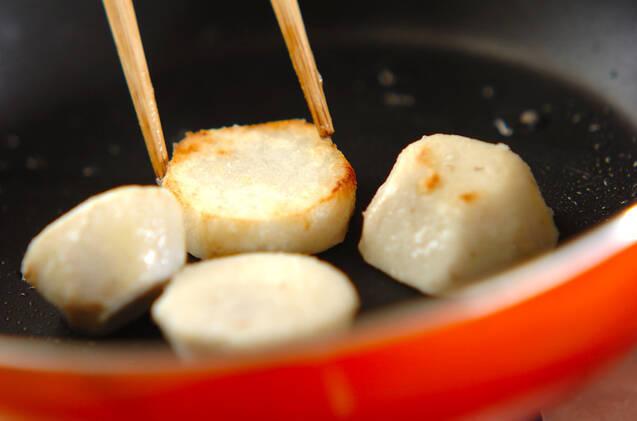 里芋のゴマ照り焼きの作り方の手順2