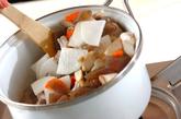 トック入り豚汁の作り方1