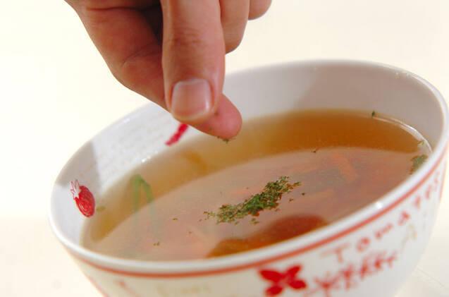 コンソメスープの作り方の手順5
