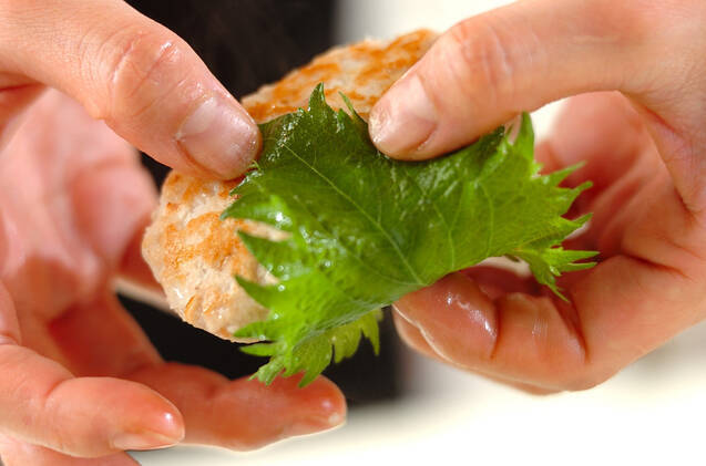 マグロとレンコンのつくねの作り方の手順4