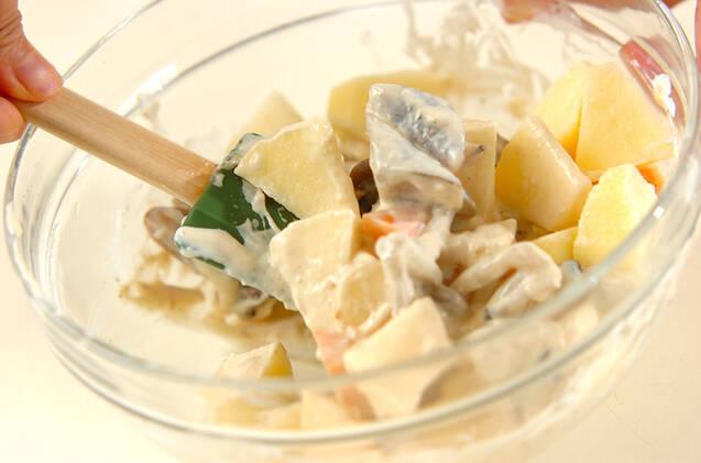野菜のクリーム和えサラダの作り方の手順7