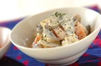 野菜のクリーム和えサラダ