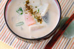 塩鮭の豆乳粕汁