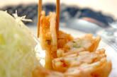 レンコンのはさみ揚げの作り方7