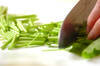 長芋の柿酢の作り方の手順1