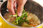 高野豆腐と玉ネギの卵とじの作り方2