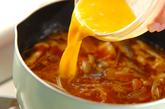 冷凍コンニャクのユッケジャンスープの作り方2