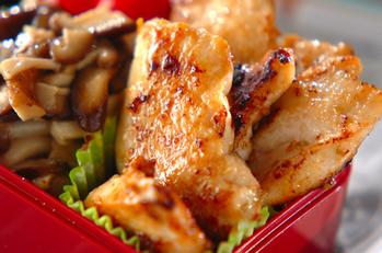 鶏むね肉のユズコショウ焼き