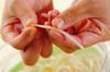 野菜のヘルシー甘酢和えの作り方の手順1