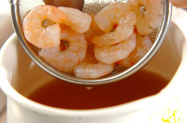 プリプリエビのあんかけ素麺の作り方の手順5