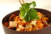 豆腐のキムチスープご飯の作り方4