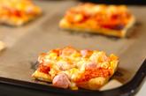 ソーセージのピザパイの作り方2