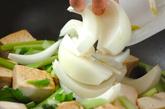 焼き豆腐のピリ辛みそ炒めの作り方1