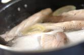 ハマチのアラの煮物の作り方2