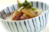 牛丼の作り方5