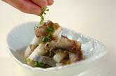 シメサバと野菜のとろろ昆布和えの作り方7