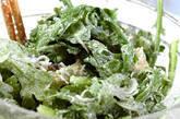 菊菜としらすのかき揚げ の作り方7