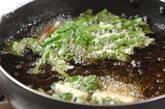 菊菜としらすのかき揚げ の作り方8