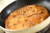 キムチ入りお好み焼きの作り方3