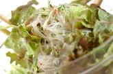 蒸し鶏と春雨サラダの作り方3