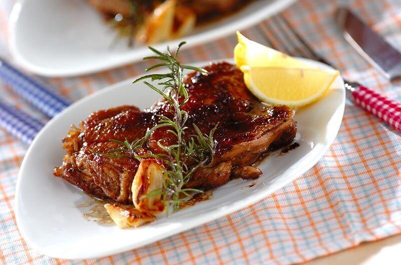 鶏肉のバルサミコソテー