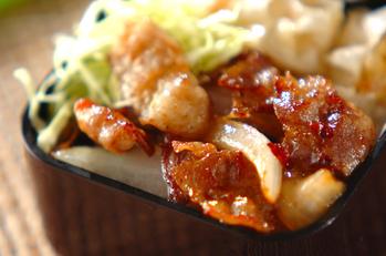 豚肉のオイスターマヨ炒め