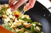 卵白のしょうゆ炒めの作り方2