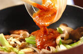 豚バラ肉の辛みそ炒めの作り方4