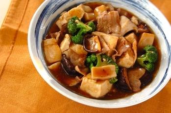 豆腐のオイスター煮