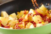 ジャガとコンビーフ炒めの作り方5